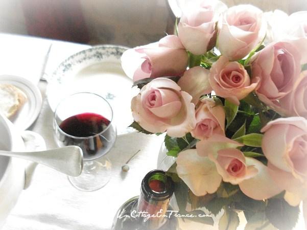 Du vin et des roses... - Wine and roses..