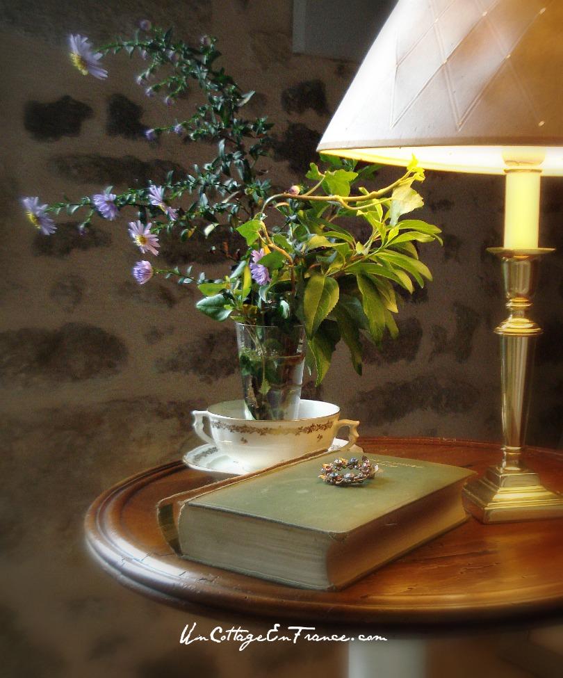 Un Cottage en France - Le bouquet d'asters