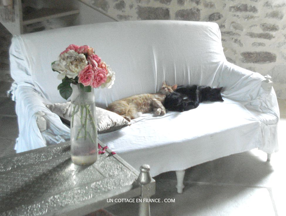 limousin, un cottage en france, décoration romantique, maison de campagne, blog campagne chic, shabby chic