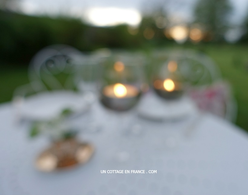 Dîner campagne chic - Blog campagne chic esprit de charme Limousin