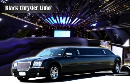 black-chrysler-limo