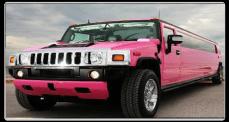 5-Pink H2 Hummer Limo