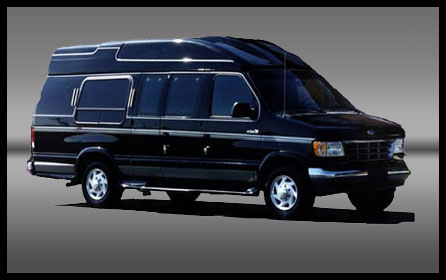 Modèle:Limo Executive Van Passagers: 10 Sièges capitaine Couleur: Noire Prix: À partir de 300 $ de l'heure