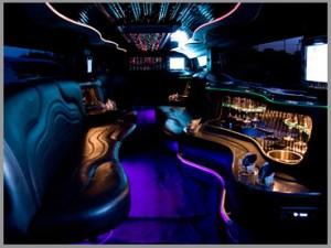 Black Navigator interior