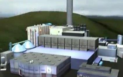 Uma visita técnica à usina de geração de energia de Estcolmo