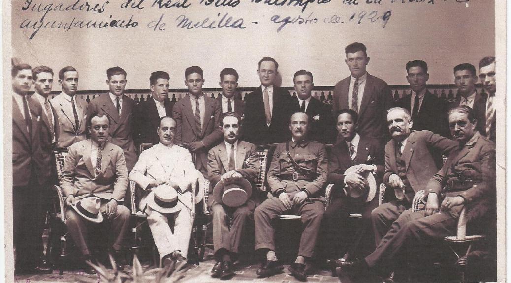El general González Carrasco fue Comandante General de Melilla.