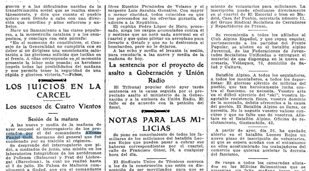 Alfonso Fanjul (ABC, 27 de septiembre de 1936).