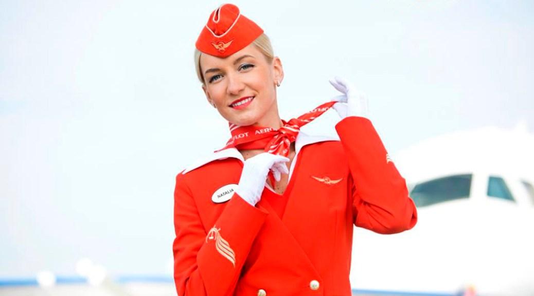 Aeroflot: La hoz y el martillo en la frente, el corazón y las muñecas.