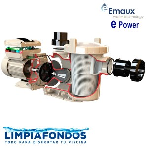 Bomba Emaux E-Power 4,0 HP Trifásica