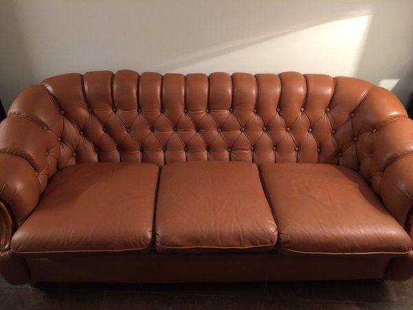 Sofá cheste completamente restaurado