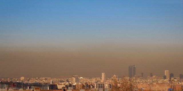 Contaminación o polusión y Madrid