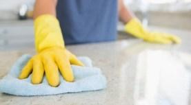limpiando el hogar
