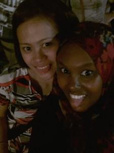 Me and Maureen!