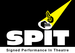 AAA - Spit logo with text