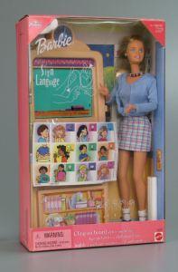 Sign language Barbie