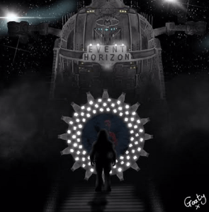 Goaty's illustration inspired by the movie Event Horizon