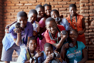 The children who took part in the project