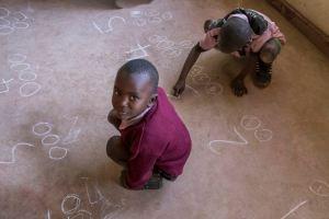 Deaf unit at Baba Dogo Primary School, Nairobi, Kenya.