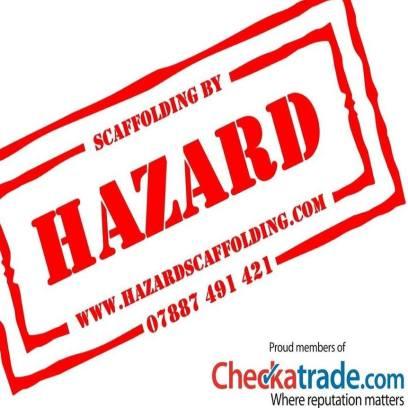 Hazard Scaffolding - local scaffolding company run by Joe Borawiak. 07887 491421, joe@hazardscaffolding.com www.hazardscaffolding.com.