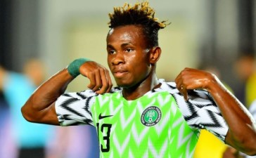 '' We are not under pressure to win Against Sierra Leone''[ Samuel Chukwueze]