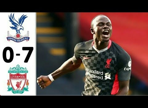 PL: Liverpool trashed Palace to stay top the League table.