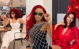 Celebs Rock Red Hairs For Valentines Day (Photos).