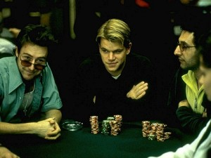 Matt Damon In Rounders