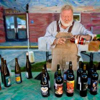 Wine & Beer Maker at the Lincoln City Farmers & Crafters Market