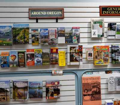 Lincoln City Information Center brochures
