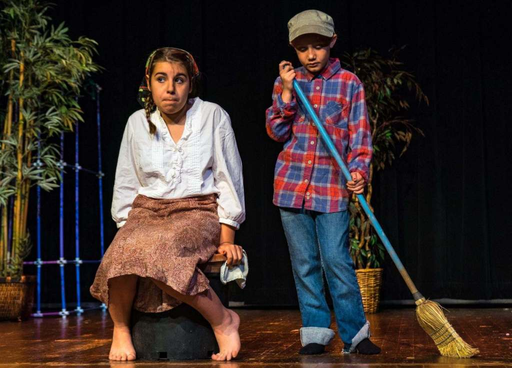 Scenes from the 2018 Theatre Camp performance at the LCCC.