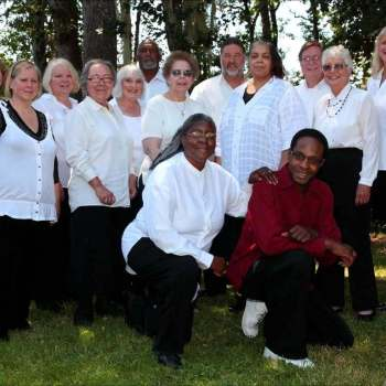 Inspirational Sounds Gospel Choir Group Portrait