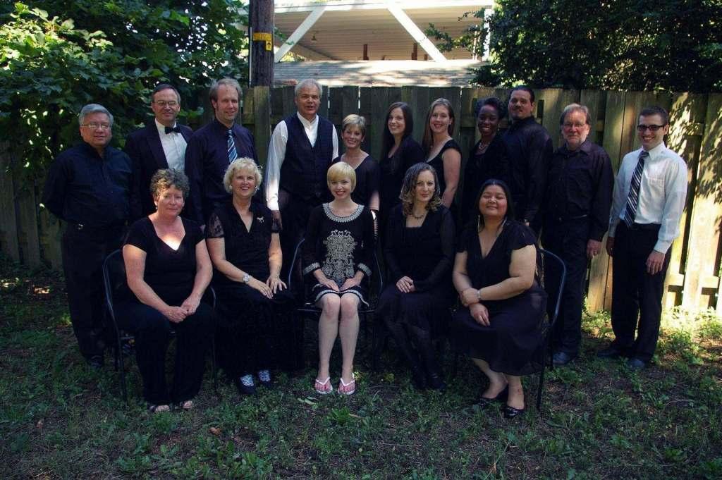 Cascadia Chamber Opera group portrait