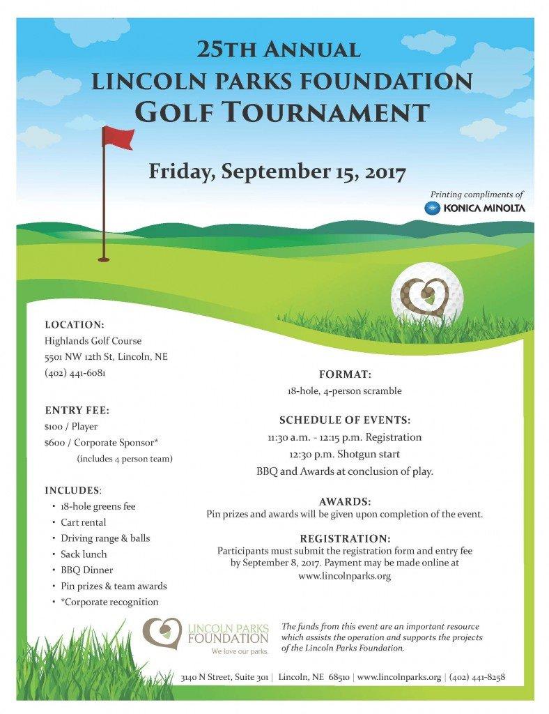 golf sponsor flyer template