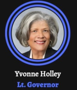 Yvonne Holley for Lt. Governor