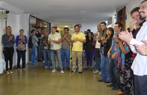 Reception at Department of Mathematics