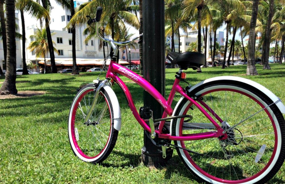 Bike on Ocean Drive