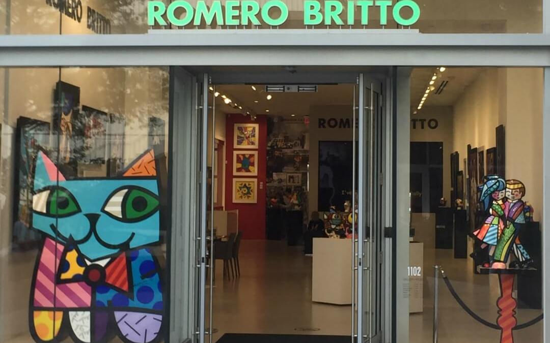 Britto Gallery on Lincoln Road