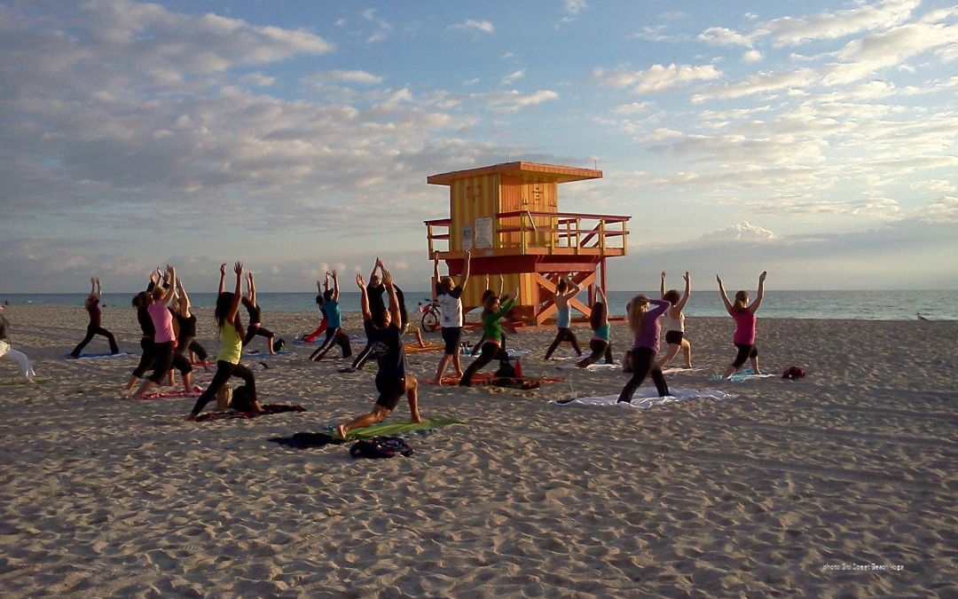 Yoga spots in South Beach