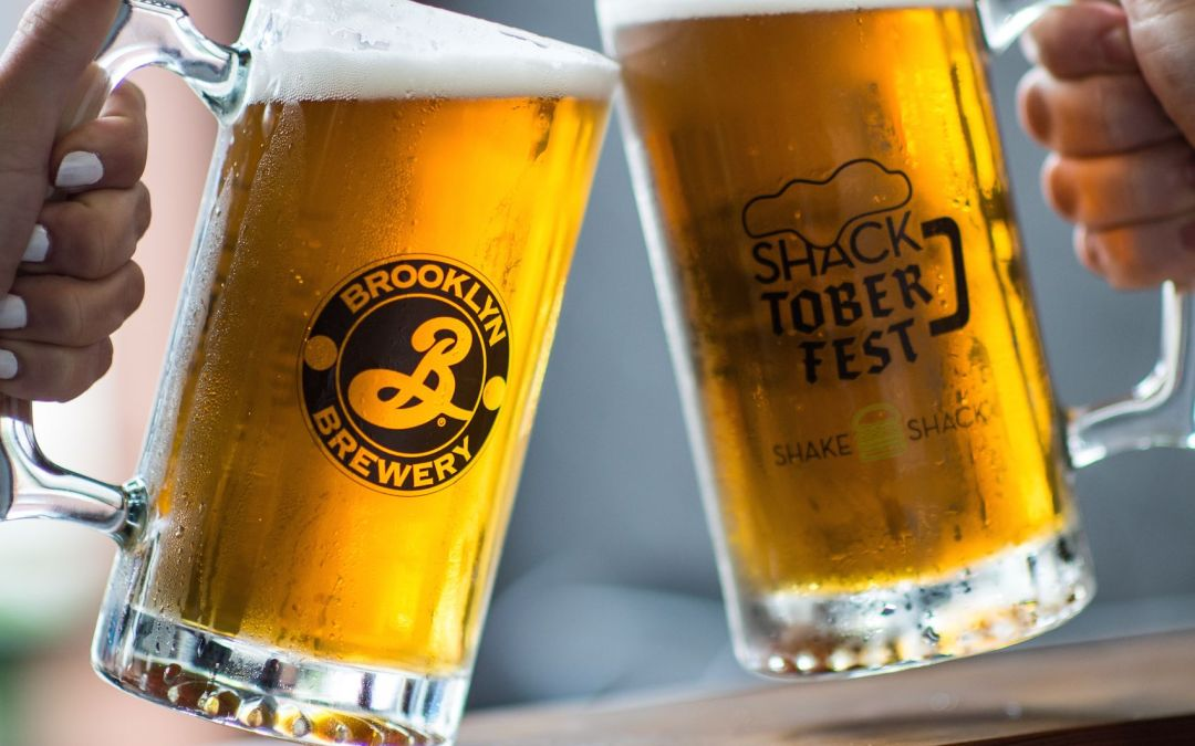 SHACKTOBERFEST Is Here!! Come on over to the Shake Shack for some bier, brats and burgers.