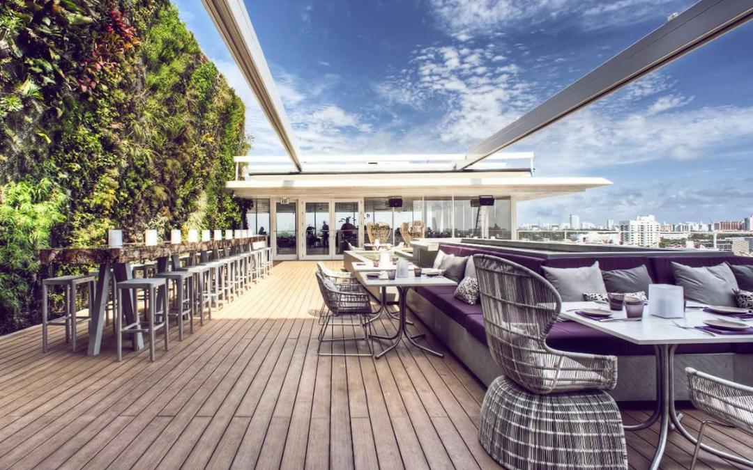 Juvia Rooftop: Sunsets, Cocktails, & Views