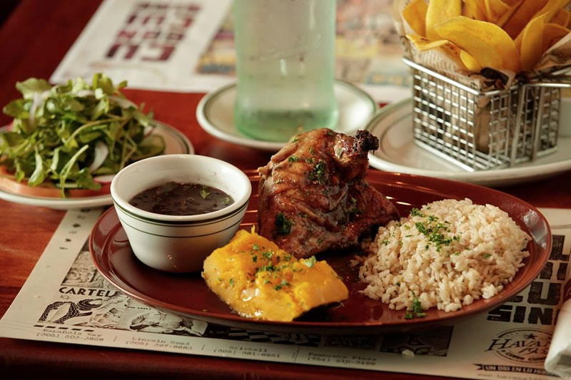 Authentic Cuban Cuisine Of Havana 1957 Authentic Cuban Cuisine On Lincoln Road