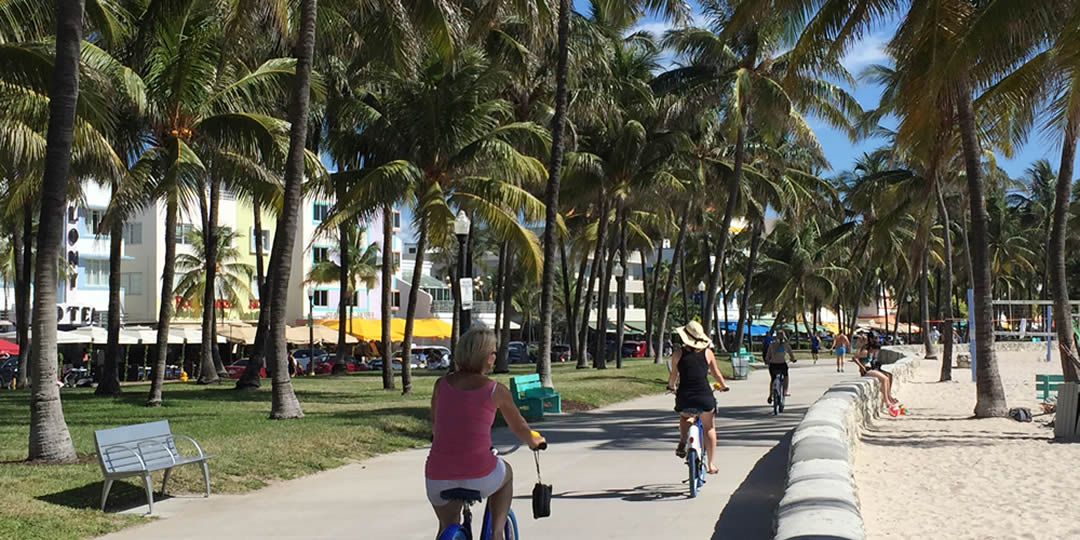 vacation tip: we have miles of beautiful miami beach