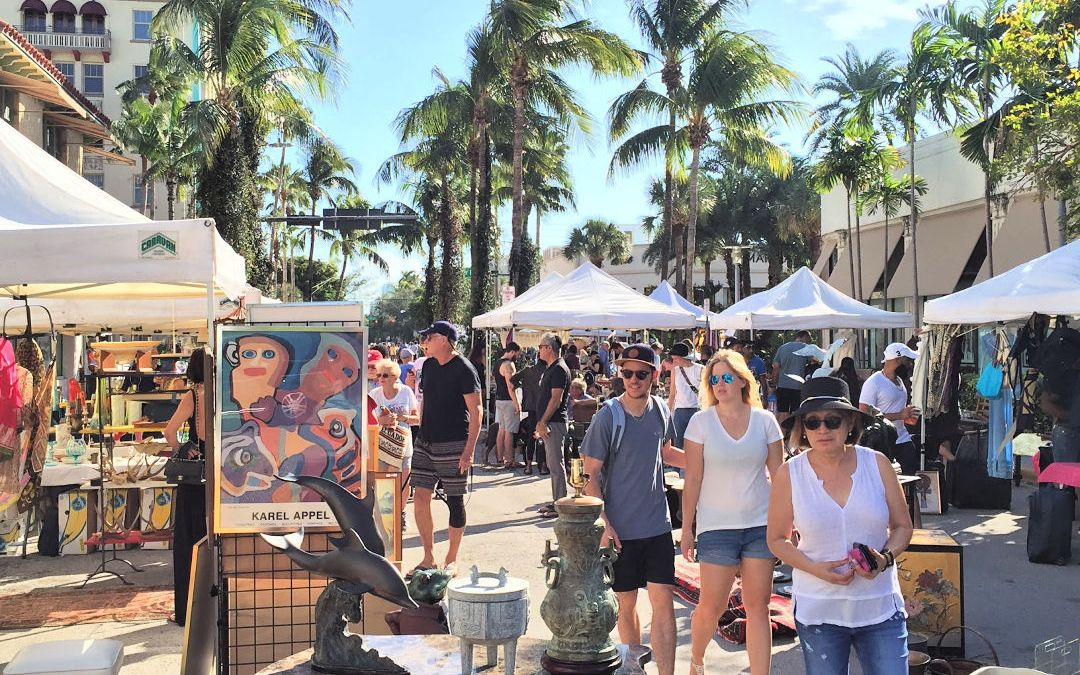 Lincoln Road Antique & Collectible Market Schedule for the 2018 -2019 Season