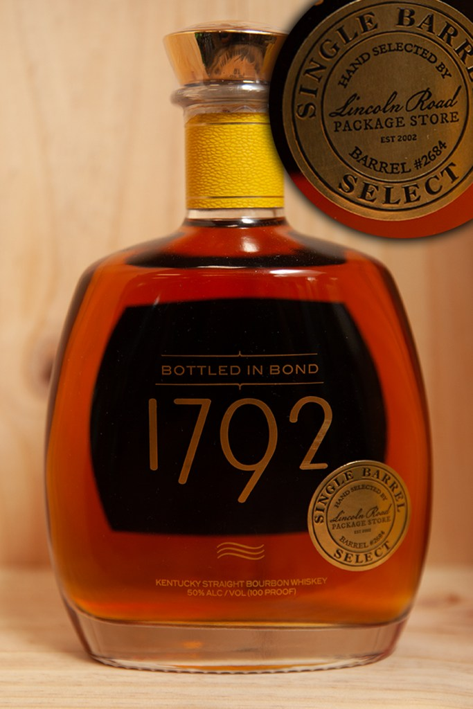 Single Barrel Select hand selected by Lincoln Road Package Store Barrel #2684
