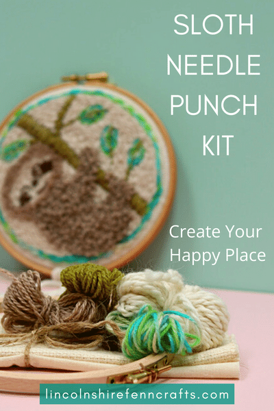 Vegetarian punch needle kits and tutorials from Lincolnshire Fenn Crafts. Inspiring you to create since 2013! via @lincolnshirefen