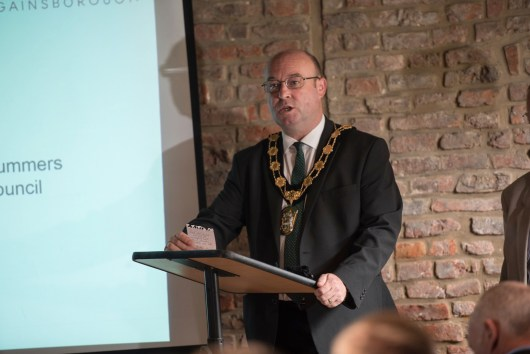 Councillor Roger Patterson, Chairman of West Lindsey District Council. Photo: Steve Smailes for Lincolnshire Reporter