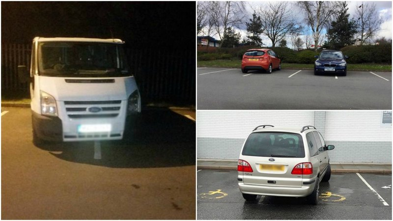 We found some pretty bad parking examples in Scunthorpe.