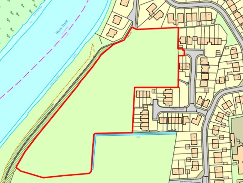 The site location plan. Photo: Promap