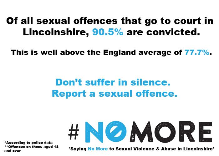 Lincolnshire Safer Communities campaign poster