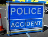 A15 closed after lorry crash